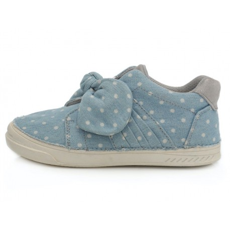 Šviesiai mėlyni canvas batai 25-30 d. C04047M