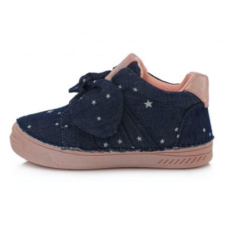 Mėlyni canvas batai 25-30 d. C04047AM