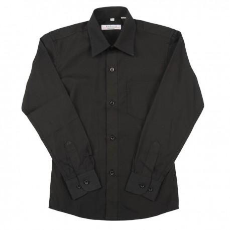 Juodi marškiniai ilgomis rankovėmis TF1314242_116-152