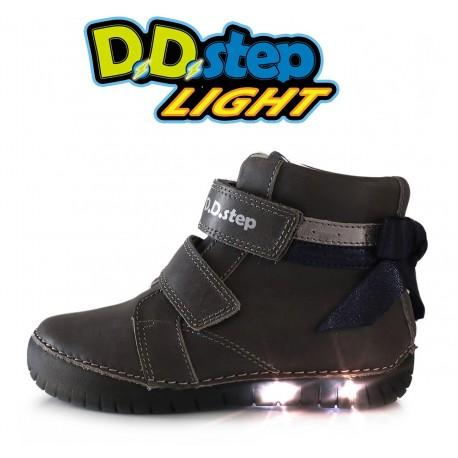 Pilki LED batai 31-36 d. 050927L