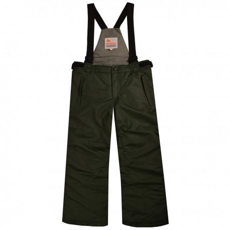 Khaki Valianly kombinezoninės kelnės 110-140 cm 8717P