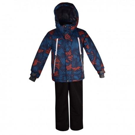 Mėlynas 2 dalių žieminis KALBORN kombinezonas berniukui K1119A/752_blue