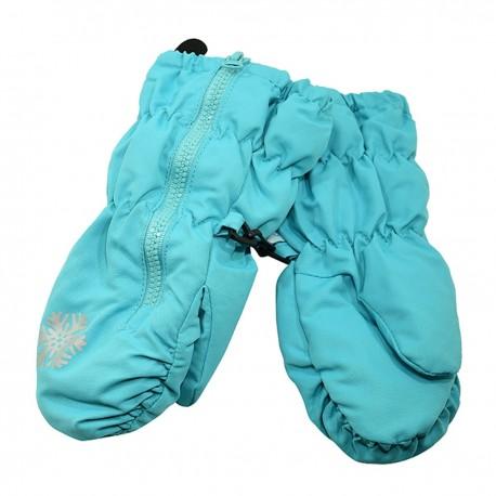 Neperšlampančios sniego pirštinės vaikams HANDAI HD5241_blue