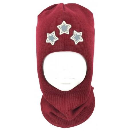 """Bordinė kepurė-šalmas su vilna """"Žvaigždės"""""""