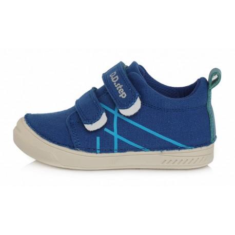 Mėlyni canvas batai 25-30 d. C040234M