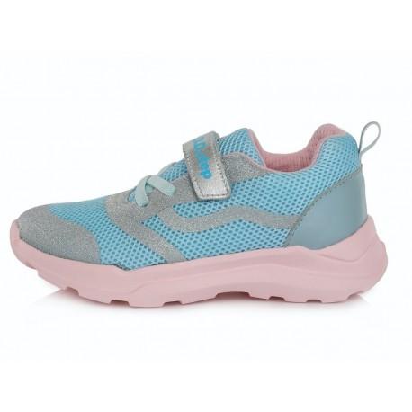 Šviesiai mėlyni sportiniai batai 30-35 d. F61626DL