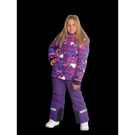 Violetinis 2 dalių žieminis VALIANLY kombinezonas 128-158