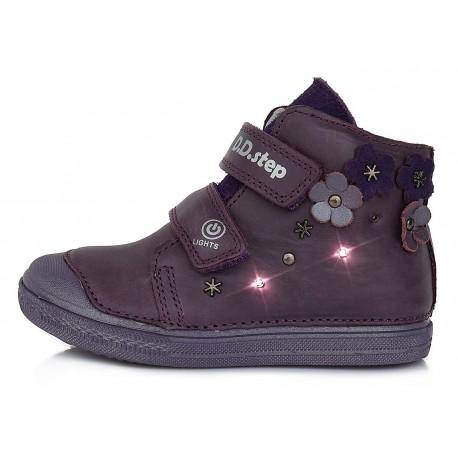 Violetiniai LED batai 31-36 d. 049885L