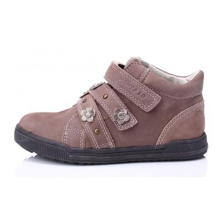 Šokoladinės spalvos batai mergaitėms 28-33 d.