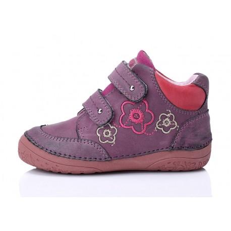 Levandų spalvos batai mergaitei 25-30d.