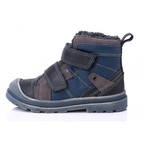 Mėlyni batai su pašiltinimu 22-27d.