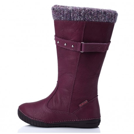 Levandų spalvos aukštaauliai batai su pašiltinimu 31-36 d.