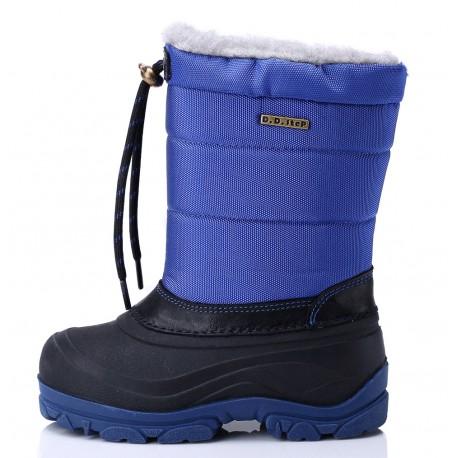 Mėlyni sniego batai 27-32 d.