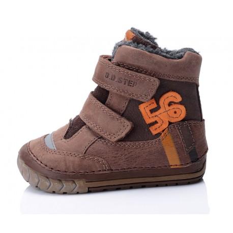 Šokoladinės sp. batai su pašiltinimu 19-24 d.