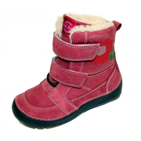 Raudoni batai su pašiltinimu 31-36 d.
