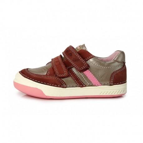 Bronzinės sp. batai mergaitėms 25-30 d.b