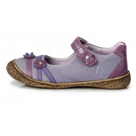 Violetiniai bateliai mergaitėms 28-33 d.