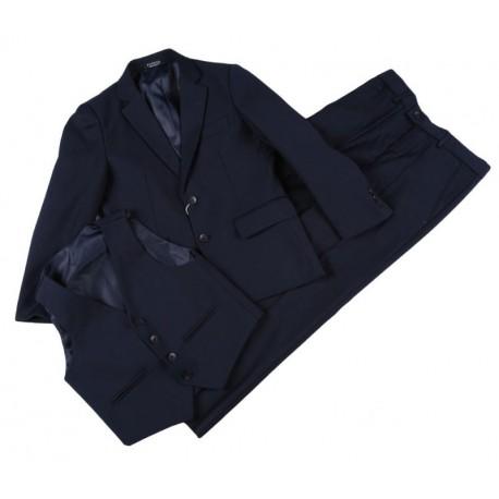 Tamsiai mėlynas kostiumas berniukui