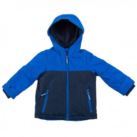 Mėlyna striukė pavasariui-rudeniui berniukui BSTR10024