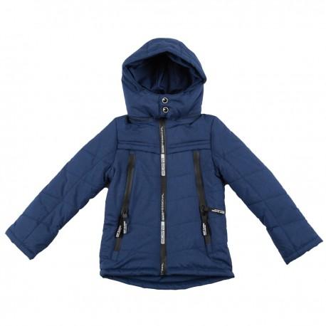 Mėlyna striukė pavasariui-rudeniui berniukui BSTR10023