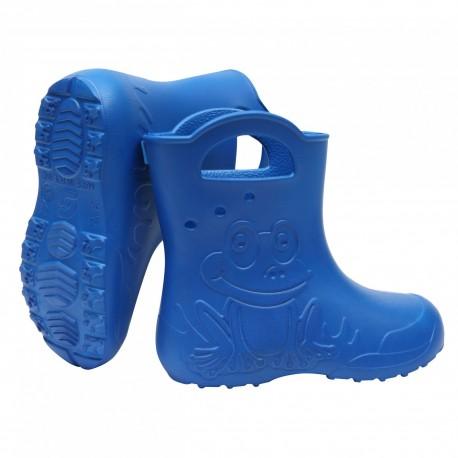 Mėlyni, lengvi guminiai batai 24-29 d. CAMMINARE FROG