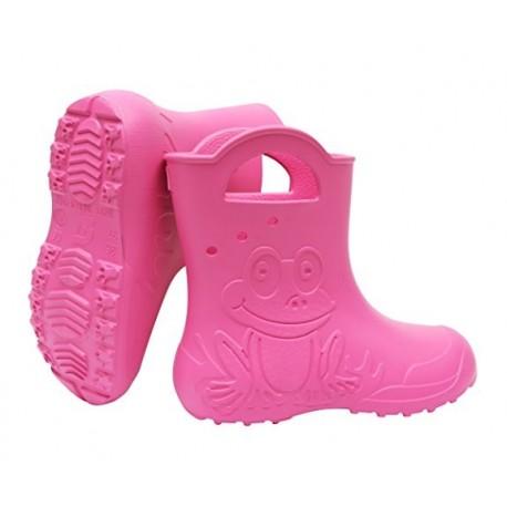 Rožiniai, lengvi guminiai batai 24-29 d. CAMMINARE FROG