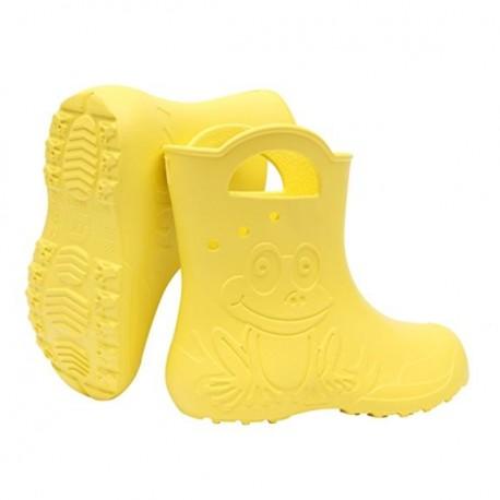 Geltoni, lengvi guminiai batai 24-29 d. CAMMINARE FROG