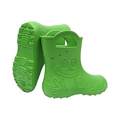 Žali, lengvi guminiai batai 24-29 d. CAMMINARE FROG
