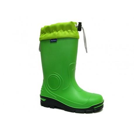 Žali guminiai batai 21-28 d. 23-487-ZIELONY