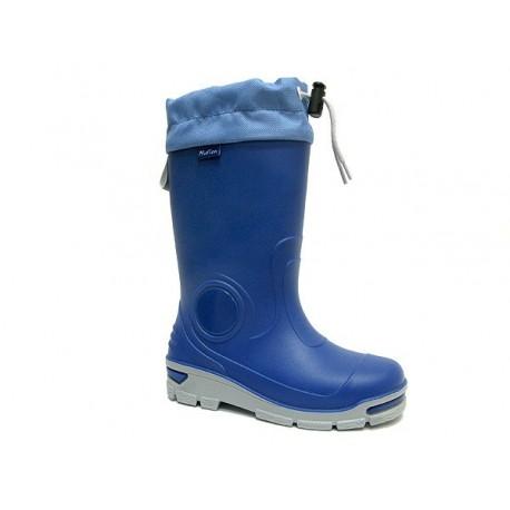Mėlyni guminiai batai 29-36 d. 33-487-chaber