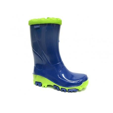 Mėlyni guminiai batai 21-28 d. 23-492-chaber