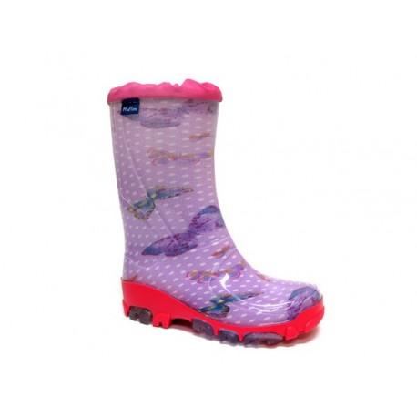 Violetiniai guminiai batai 21-28 d. 23-492-fioletmotyle