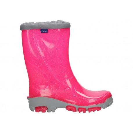 Rožiniai guminiai batai 21-28 d. 23-492-roz
