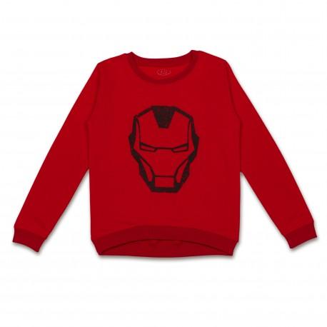 """Raudonas FLAMINGO džemperis """"Iron Man"""" berniukui BDZ10012"""
