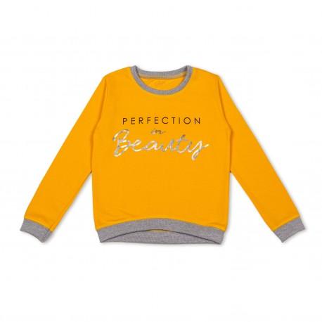 Geltonas FLAMINGO džemperis mergaitei MDZ10014