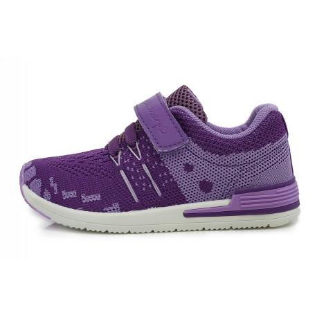 Violetiniai sportiniai bateliai 26-31 d. CSG-078DM