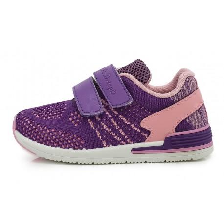 Violetiniai sportiniai bateliai 26-31 d. CSG-077DM