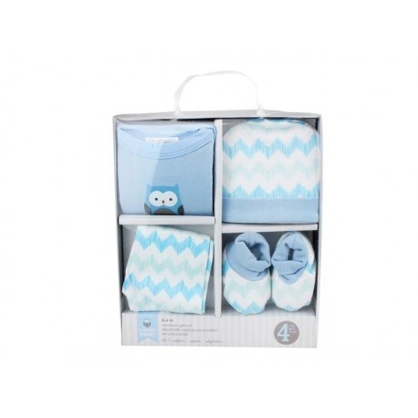 HONNEY BUNNY mėlynas komplektukas kūdikiams