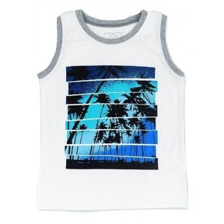 """FLAMINGO berankoviai marškinėliai berniukui """"Palmės"""