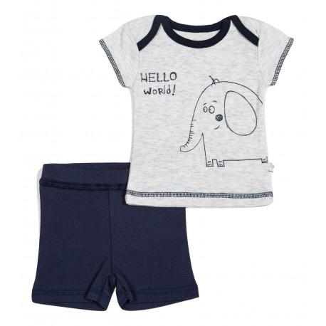Komplektukas: marškinėliai trumpomis rankovėmis ir šortai berniukui FLAMINGO VKMP10047
