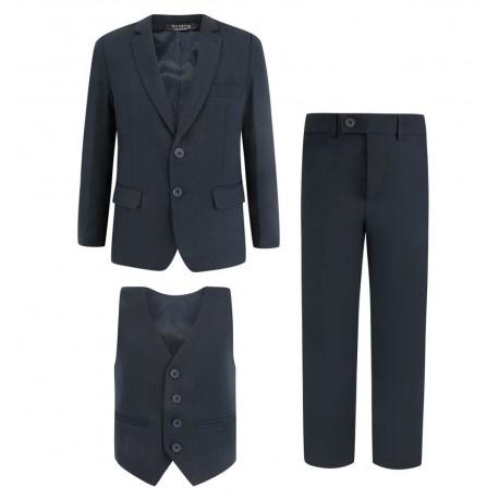 Tamsiai mėlynas kostiumas / mokyklinė uniforma berniukui 116-158 cm
