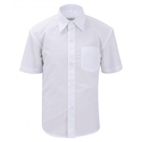 Balti marškiniai trumpomis rankovėmis berniukui BMA10023