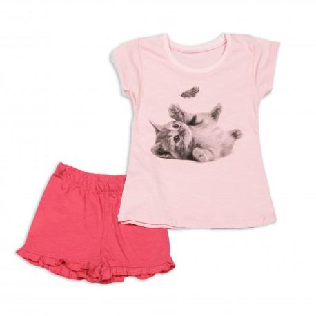 Vasarinė trumpa pižama mergaitei MPI10010