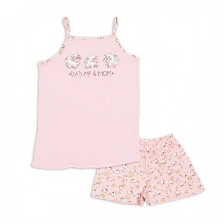 Vasarinė trumpa pižama mergaitei MPI10009