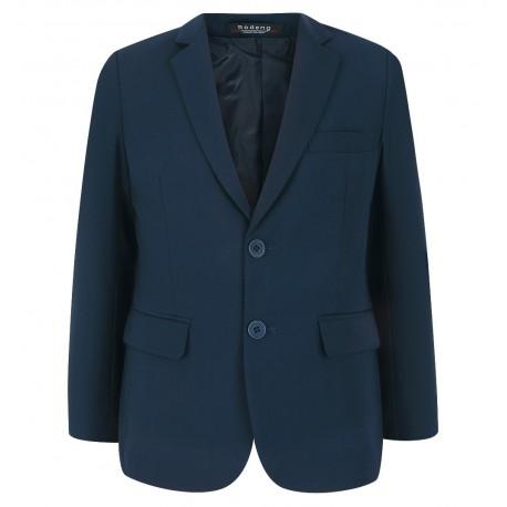 Klasikinis tamsiai mėlynos švarkas vaikinams į mokyklą