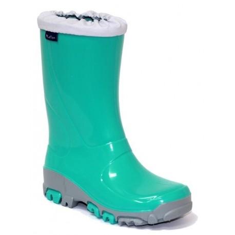 Žali guminiai batai 29-36 d. 33-492-turkus