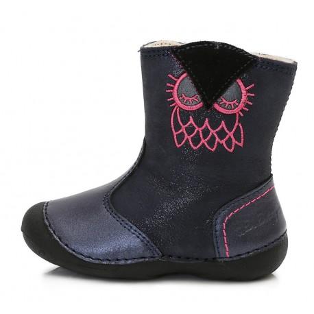 Mėlyni batai su pašiltinimu 19-24 d. 015160U