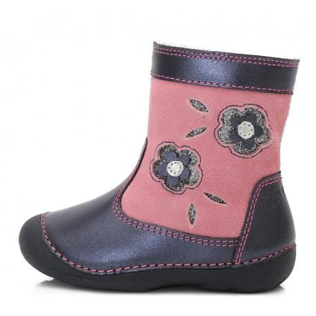 Rožiniai batai su pašiltinimu 19-24 d. 015159A