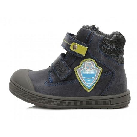 Tamsiai mėlyni batai su pašiltinimu 22-27 d. DA031340