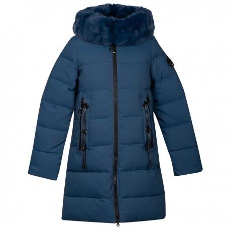 Mėlyna žieminė striukė-paltas Black&Red MSTR10022